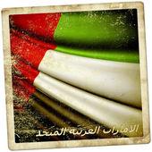 Flag of United Arab Emirates  — Stock Photo