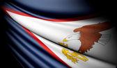 Bandeira da samoa americana — Foto Stock