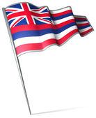 Flag of Hawaii (USA)  — Stock Photo