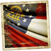 Flag of Georgia (USA) — Stock Photo