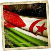 Flag of Western Sahara  — Stock Photo