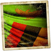 Flag of Zambia  — Stock Photo