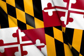 Flag of Maryland (USA) — Stock Photo