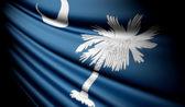 Flag of South Carolina (USA)  — Stockfoto