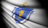 Flag of Massachusetts (USA) — Stock Photo