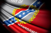 Flag of Montgomery, Alabama (USA) — Stock Photo