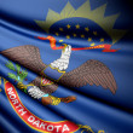 Flag of North Dakota (USA) — Stock Photo #45147715