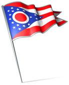 Flag of Ohio (USA) — Stock Photo