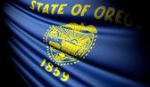Flag of Oregon (USA)  — Stockfoto