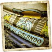 Flag of Orlando, Florida (USA)  — Stockfoto
