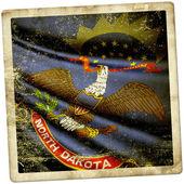 Flag of North Dakota (USA)  — Stockfoto