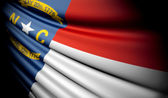 Flag of North Carolina (USA)  — Stock Photo