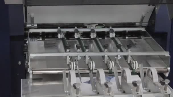 Folleto — Vídeo de stock