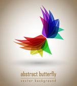 Abstract butterfly — Stock Vector