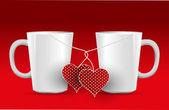 Happy valentine s day Love — Stock Vector