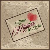 Festa della mamma felice — Vettoriale Stock
