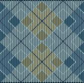 Argyle Sweater Background — Stock Vector