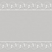 Cute vector Straight lace — Stock Vector
