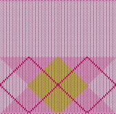 Argyle Sweater Background. — Wektor stockowy