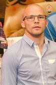 DONETSK,UKRAINE-AUGUST 23: Russian boxer Konstantin Piternov du — Stockfoto
