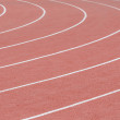 Curve of a Running Track — Stock Photo