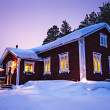 Finnish house — Stock Photo