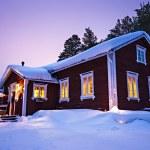 Finnish house — Stock Photo