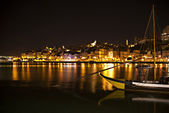 Porto at night — Stock Photo