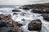 Basalt stones — Stock Photo
