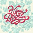 Happy Birthday.  — Image vectorielle