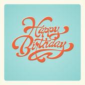 Happy Birthday. — Stock Vector