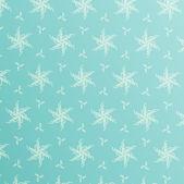Snowflakes seamless pattern — 图库矢量图片