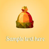 Hat abstraction, backgrounds, vector illustration — Stock fotografie