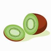 Illustration of kiwi fruit — Stock Photo