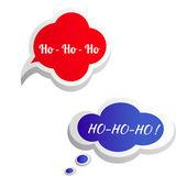 Just Say Ho! Speech bubble. Vector. — Zdjęcie stockowe
