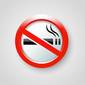 No smoking vector — Stock Vector