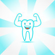 Healthy tooth — Vector de stock #37928747