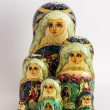 Matryoshka - Russian Nested Dolls — Stock Photo