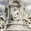 Victoria Memorial - Angel of Charity — Stock Photo