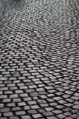 Street with cobbleston — Stock Photo