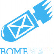 Stock Vector: Bomb Mail Logo Template