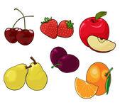 Frutta — Vettoriale Stock