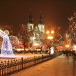 Christmas Mood on the Old Town Square — Stock Photo #31862003