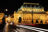 View on the Prague National Theater — Stock Photo