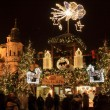 Christmas Mood on the Old Town Square, Prague, Czech Republic — Stok fotoğraf