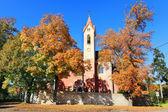 The historic Church in Porici, Czech Republic — Stockfoto