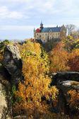 Castle Hruba Skala in Bohemian Paradise, Czech Republic — Stock Photo