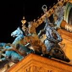 Detail of the Prague National Theater, Czech Republic — Stock Photo #35560839