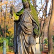 Historic Jesus on the old Prague Cemetery, Czech Republic — Stock fotografie