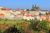 Autumn Prague gothic Castle, Czech Republic — Stock Photo